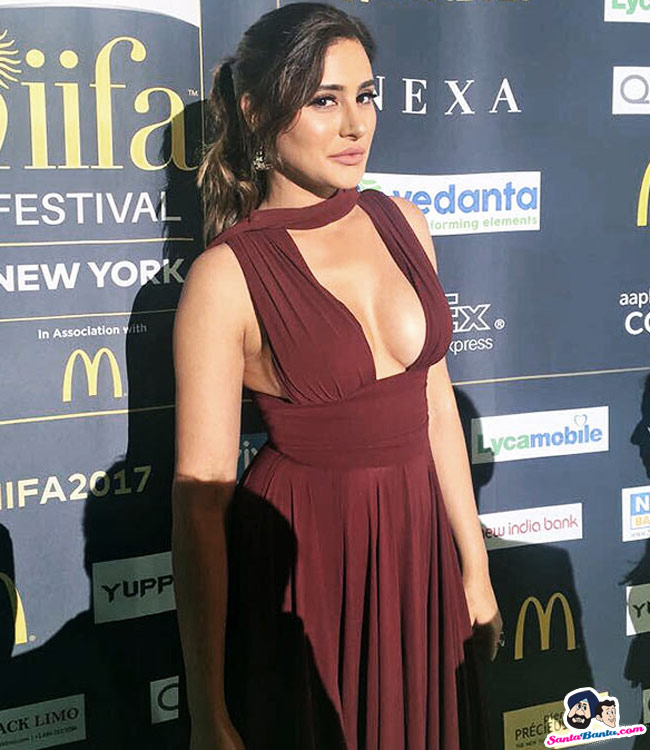 Bollywood Actress Nargis Fakhri at IIFA Awards