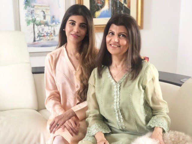 An Instagram image of Rubina Ashraf and her daughter Minna Tariq