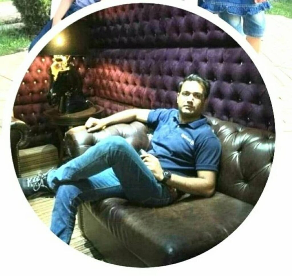 A profile picture of Usman Gohar on his social media profile