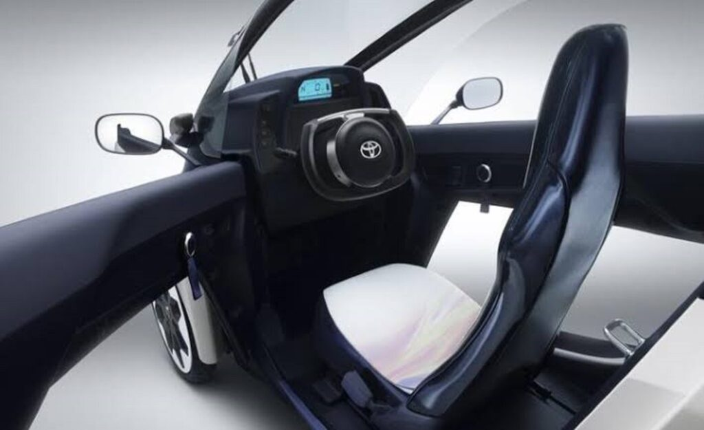 Inner view of Electric Tricycles