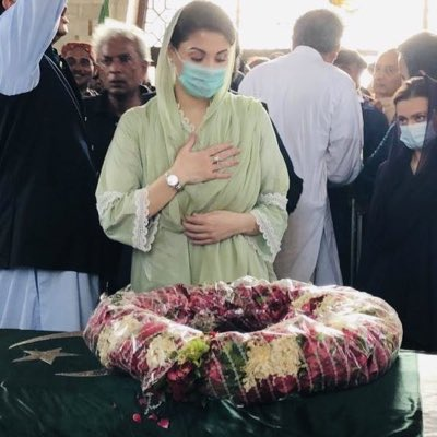 Maryam Nawaz visits Quaid-e-Azam's mausolem in Karachi